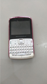 Celular Motorola Ex 112 Para Retirar Peças