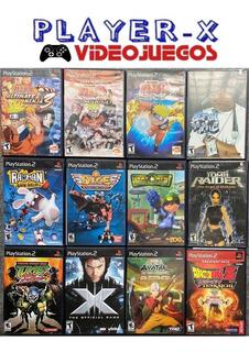 Pack 12 Juegos Ps2