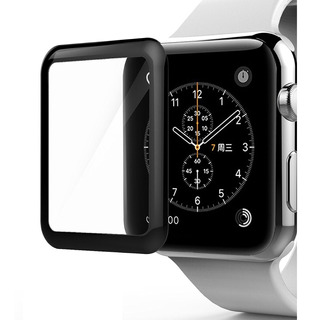 Vidrio Templado Gorilla Glass Curvo 3d Apple Watch 38mm 42mm