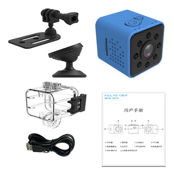 Sq23 Hd 1080 P Mini Carro Esporte Câmera Traço Excêntrico