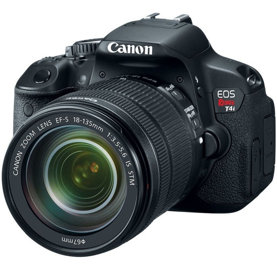 Canon Eos Rebel T4i Com Lente Efs 18-135mm135