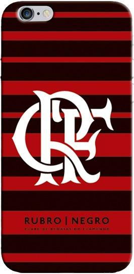 Capinha Oficial Do Flamengo Escudo Branco 00853