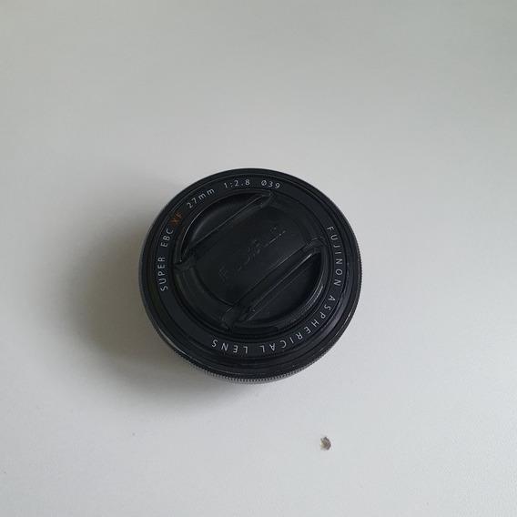 Lente Fuji Fujifilm Xf 27mm 2.8