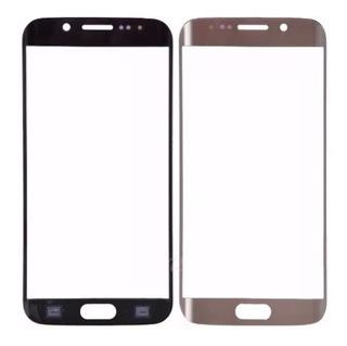 Vidrio Repuesto Pantalla Delantera P/ Samsung S7 Edge Curvo