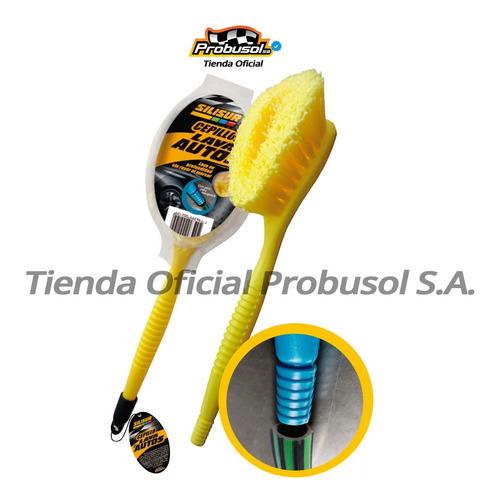 Silisur Cepillo Lava Auto Redondo C/pico Para Manguera