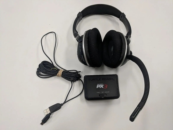 Headset Wireless Px3 Ear Force Turtle Beach Ps4 Ps3 Xbox360