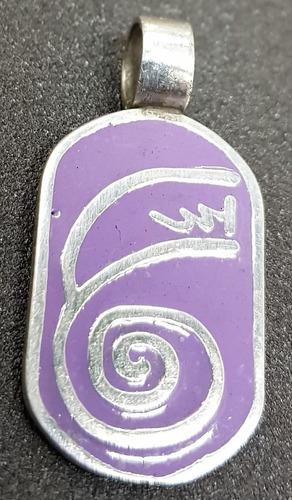 Dije Reiki Dai Ko Myo Tibetano Esmalte 3,5 X 1,7 Cm Art 756