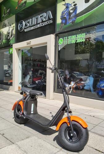 Scooter Electrico Sunra Spy Racing 1000w Mas Autnomia D