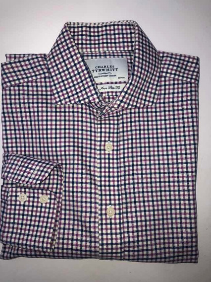 Camisa Hombre Charles Tyrwhitt Talle 15/ 38 Invierno Perfect