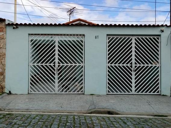 Casa Com 2 Dormitórios À Venda, 120 M² Por R$ 450.000 - Vila Jordanópolis - São Bernardo Do Campo/sp - Ca10455