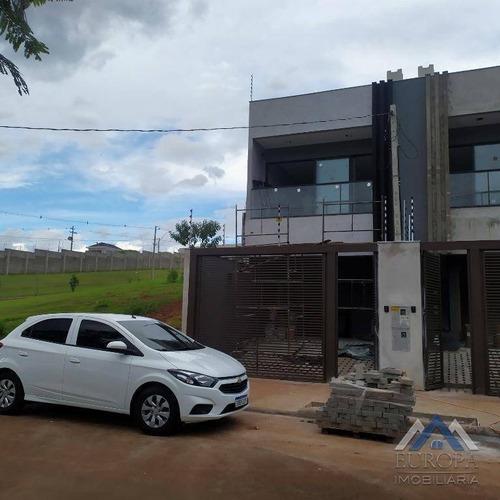 Casa Com 3 Dormitórios À Venda, 114 M² Por R$ 310.000,00 - Parque Taua - Londrina/pr - Ca1331