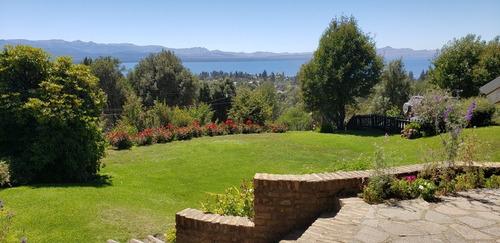 Casa Con Vista Al Lago Para 9 Pasajeros,excelente Ubicacion