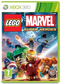 Lego Marvel Super Heroes - Xbox 360 Midia Fisic Novo Lacrado
