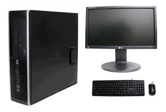 Computador Hp Elite 8200 I5 8gb 120ssd Monitor 18,5