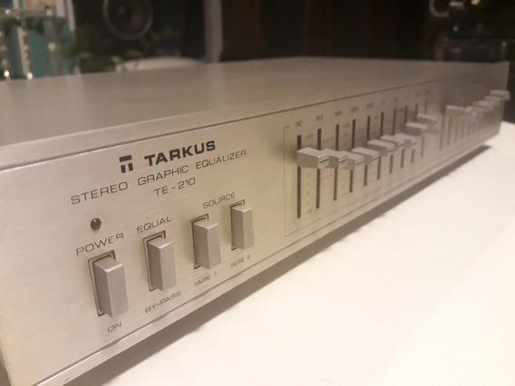 Equalizador Tarkus Modelo T E - 210 Slim Line