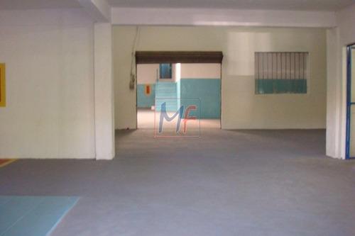 Imagem 1 de 12 de Ref  13.488 Excelente Galpão Localizado No Bairro Vila Nhocune, 810 M² A.c, 816 M² A.t, Frente: 72 M. Zoneamento: Zeu. - 13488