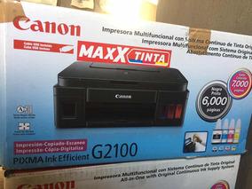 Impressora Multifuncional Canon Pixma G2100 - Molhado