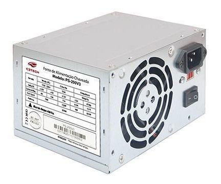 Fonte Atx 200w C3tech Ps-200v3