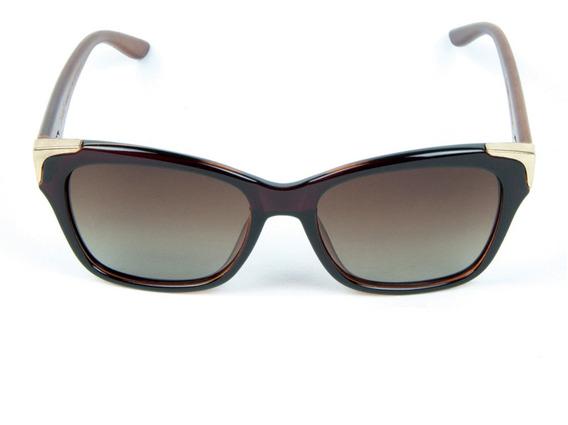 Óculos De Sol Polarizado Zabo Barcelona Marrom Degrade