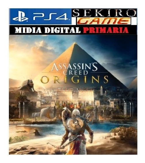 Assassins Creed Origins Ps4 Original Digital 1 Português
