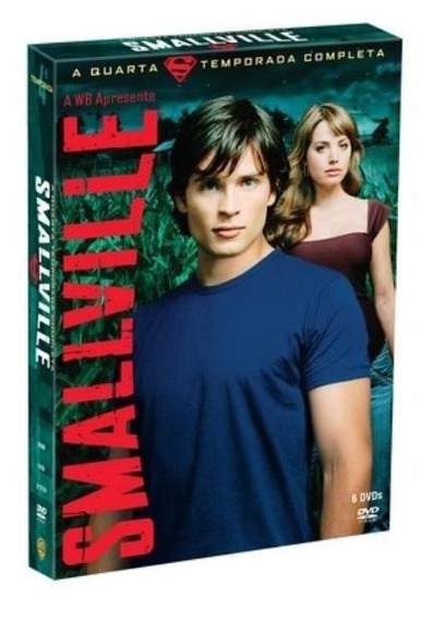 Smallville 6 Dvd 4ª Temporada Novo Lacrado Frete R$ 15,00