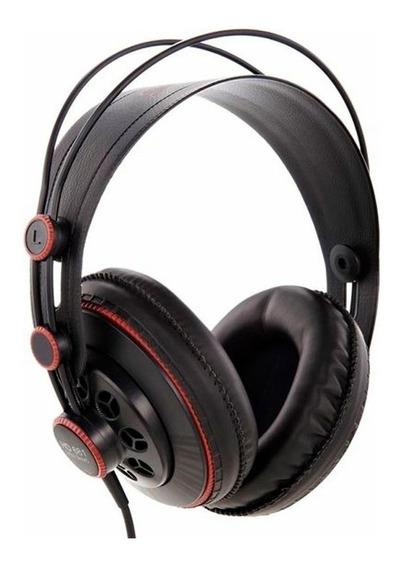 Fone de ouvido Superlux HD681 preto e vermelho