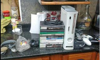 Xbox 360 Chipeada Con 16 Juegos Joya