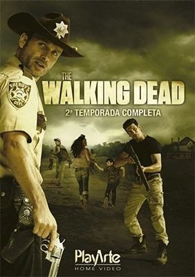 Blu Ray Box The Walking Dead 2 Temporada