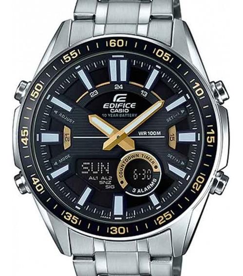 Relógio Casio Masculino Edifice Efv-c100d-1bvdf Telememo