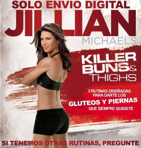 Jillian Michaels Gluteos Y Piernas Asesinas Sin Pesas Fitnes