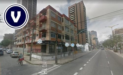 Edifício Edson Seabra - Apartamento A Venda No Bairro Meireles - Fortaleza, Ce - Ve86542