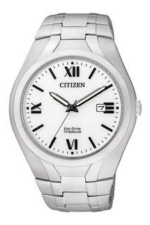 Reloj Citizen Titanium Eco Drive Bm716057b Hombre Original