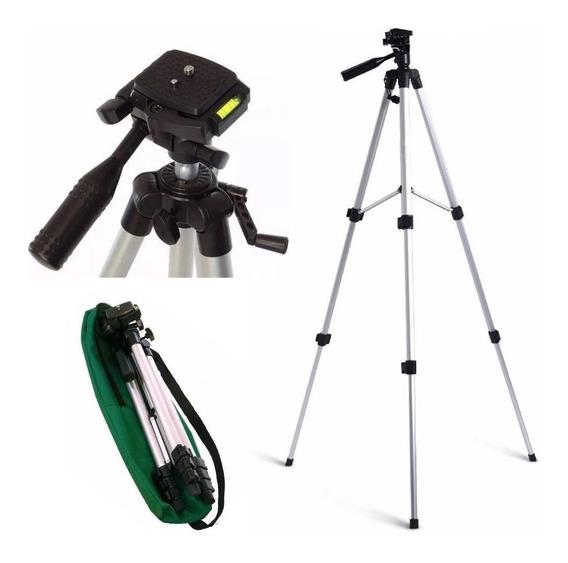 Tripé Universal Câmera Celular 1,2m Profissional Nikon Canon