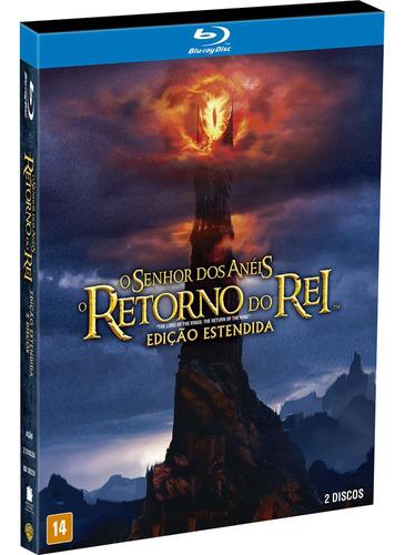 Blu-ray Duplo - O Senhor Dos Anéis: O Retorno Do Rei - Ediçã