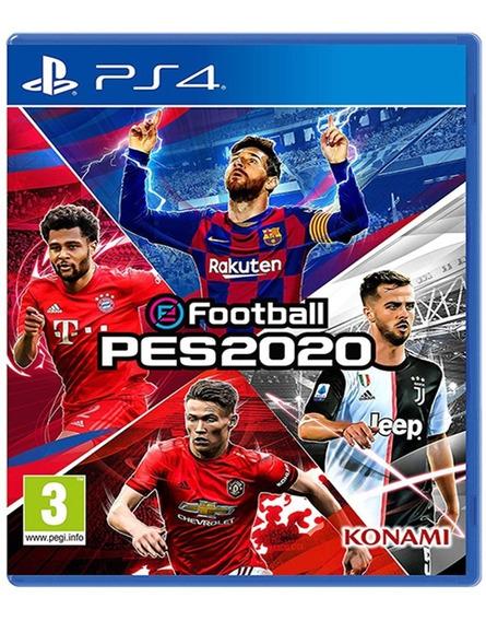 Pes 2020 Ps4. Español+ Dlc Incluye A Ronaldinho