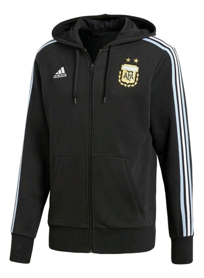 Campera Fútbol Adi Argentina Afa 2018 Hombre Original