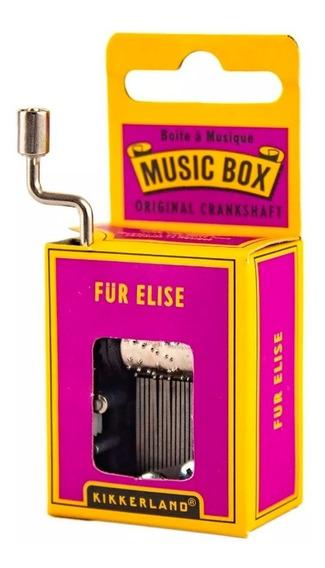 Caja Musical Melodia Fur Elise Kikkerland