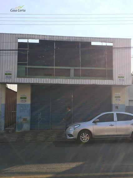 Salão Para Alugar, 386 M² Por R$ 5.000/mês - Centro - Mogi Guaçu/sp - Sl0069
