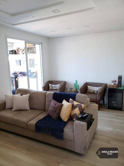Apartamento Com 2 Dormitórios À Venda, 65 M² Por R$ 400.000,00 - Vila Rosália - Guarulhos/sp - Ap0015