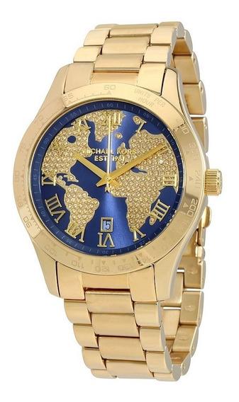 Relógio Michael Kors Mk6243 Layton Original Importado Eua