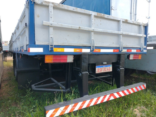 Carreta Carga Seca Randon Container Lock  (bs40)