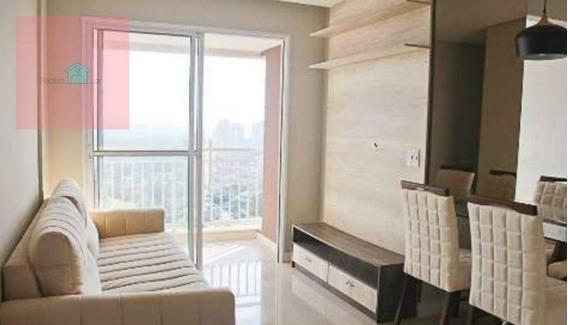 Apartamento De 2 Dormitórios C/ E S/ Suíte E Varanda Pronto Pra Morar No Quitaúna Com Lazer Completo - Ap0003