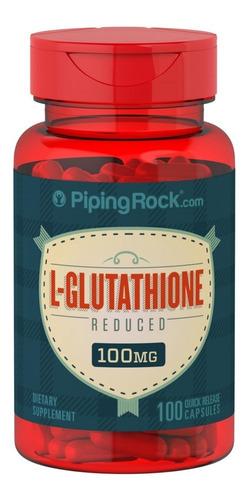 L-glutation L-glutathione 100mg Antioxidante Gsh 100caps Imp
