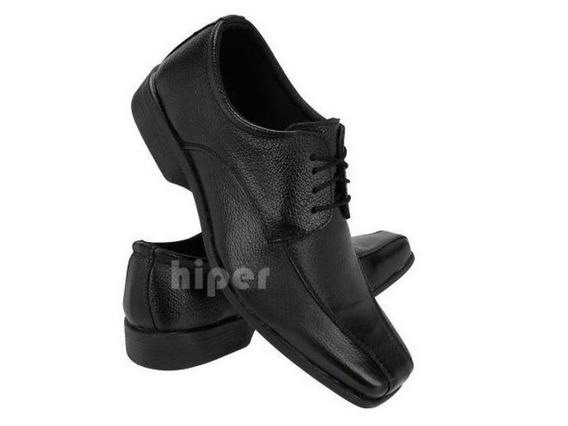 Sapato Social Masculino Couro De $69 Por $44,50 Vsr