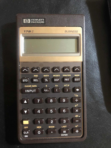 Calculadora Financiera Hp 17b Ii Business Excelente Estado
