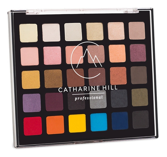 Paleta De Sombras 30 Cores Catharine Hill Original Kit Make