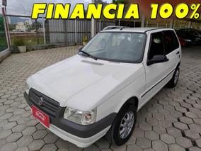 Fiat Uno Mille Economy 2011 Financia 100%