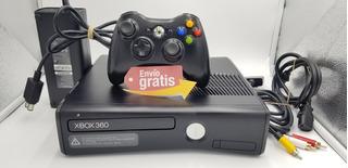 Xbox360 Slim 500gb Rgh 100 Juegos Incluye Control Original!