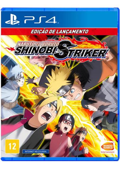 Naruto To Boruto Shinobi Striker - Ps4 Midia Fisica
