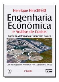 Livro: Engenharia Econômica E Análise De Custos: Aplicações